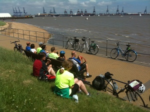 Cycling to Harwich