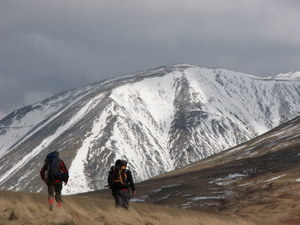 Heading for Scafell