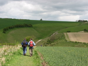 Walking the Wolds Way, Yorkshire
