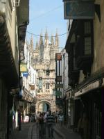 Approach to Canterbury Cathedral